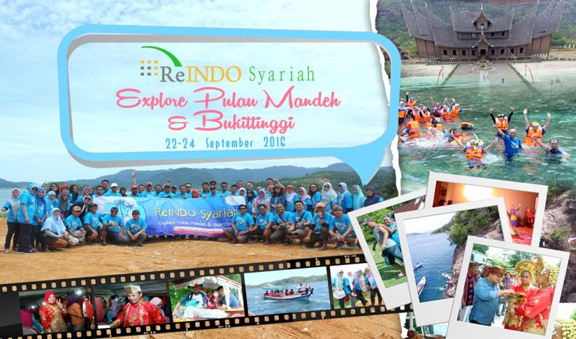 """Outbound ReINDO Syariah """"Explore Kawasan Mandeh - Padang, Sumatra Barat"""""""