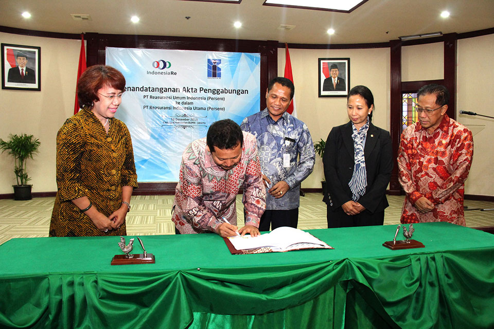 Penggabungan BUMN PT Reasuransi Umum Indonesia ke dalam Indonesia RE
