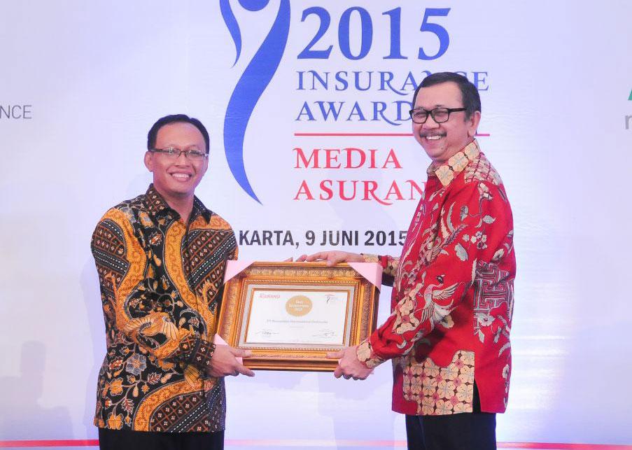 ReINDO Menerima Penghargaan Best Reinsurance